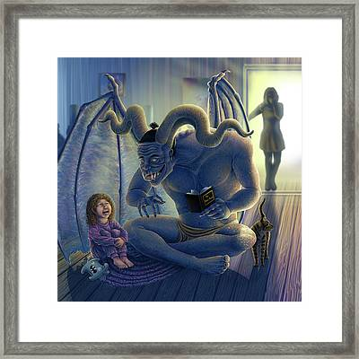 One More Story Framed Print by Cara Bevan