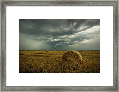 Framed Print featuring the photograph One More Time A Round by Aaron J Groen