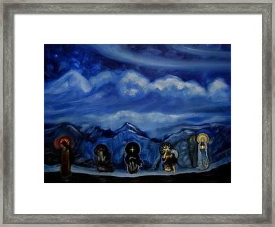 One Night As An Eternity Framed Print by Aleksei Gorbenko