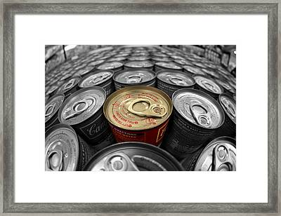 One Of A Kind Framed Print by Joshua Ball