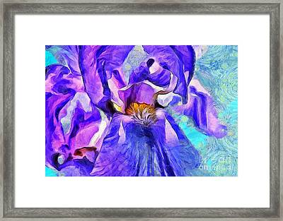 One Of A Kind Framed Print by Krissy Katsimbras