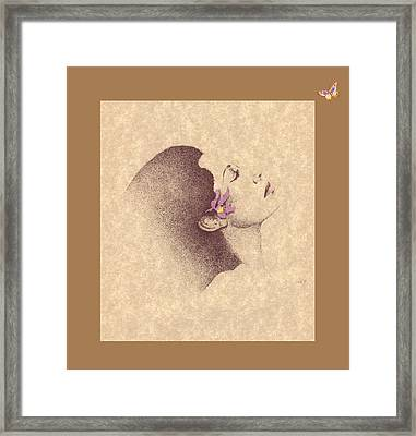 One Of A Kind Me  Framed Print