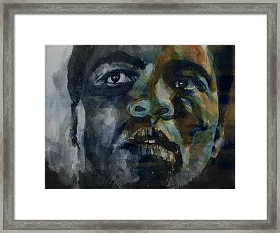 One Of A Kind  Framed Print by Paul Lovering