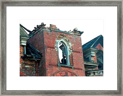 Lost To Time Framed Print by Sandra Church
