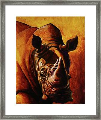 One Of Few Framed Print by Jerry Frech