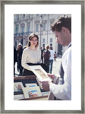 One Of Two Framed Print by Francesca Ciavarella