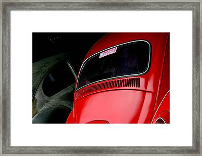 One Of Us Is Ready Framed Print by Jez C Self