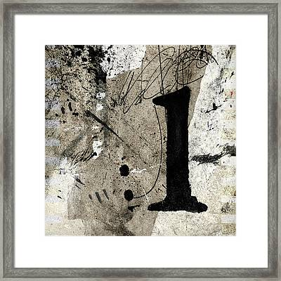 Framed Print featuring the mixed media One Off The Counter by Carol Leigh