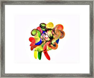 One Part 3 Framed Print by Mo T
