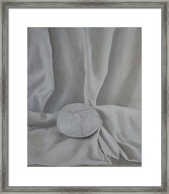 One Pebble Framed Print