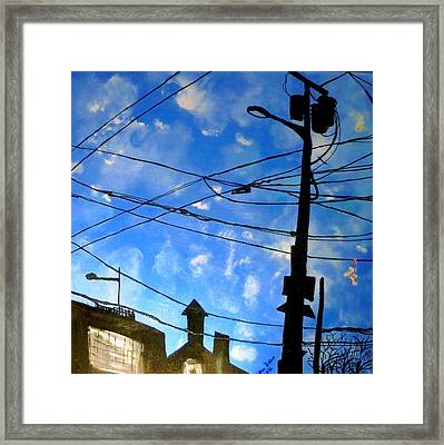 One Philly Sky Framed Print