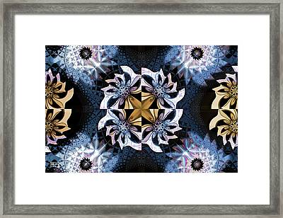 One Pill Makes You Larger Framed Print by Jim Pavelle