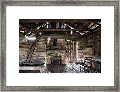 One Room Schoolhouse Framed Print