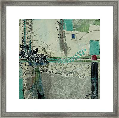 One S Storm To The Next Framed Print