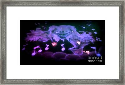 One Scary Jack-in-the-box 2 Framed Print by Kelly Awad