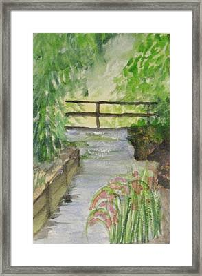 Framed Print featuring the painting One Secret Place by Trilby Cole