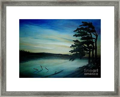 One Sided Framed Print by Vivian  Mosley