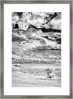 One Stands Alone II Framed Print