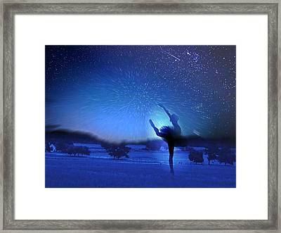 One Starry Night Framed Print by Andre Pillay