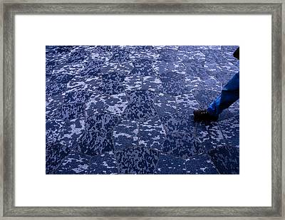 One Step Beyond Framed Print by Craig Perry-Ollila