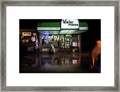One Stop Shopping Framed Print by Bob Orsillo
