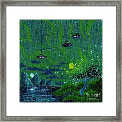One Strange Night Framed Print by Dan Keough
