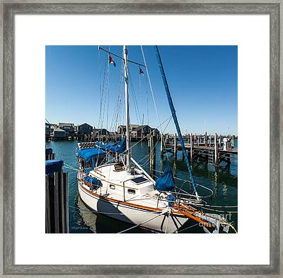 One Summer Afternoon Framed Print by Michelle Wiarda