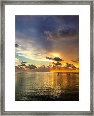 One Summer Night... Framed Print by Melanie Moraga