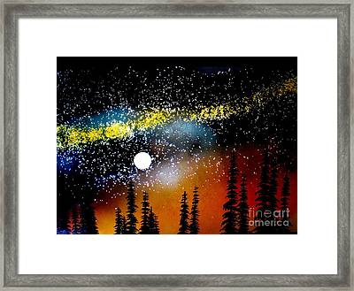One Summer's Eve Framed Print by Ed Moore