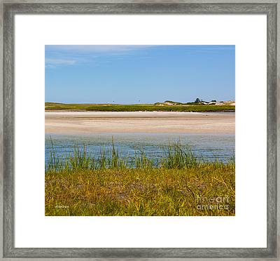 One Sunny Saturday On Cape Cod Framed Print by Michelle Wiarda