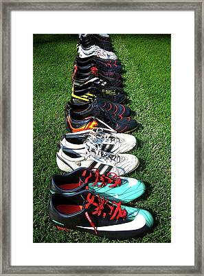 One Team ... Framed Print by Juergen Weiss