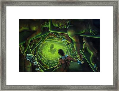 One Terrible Night Framed Print by Pat Lewis