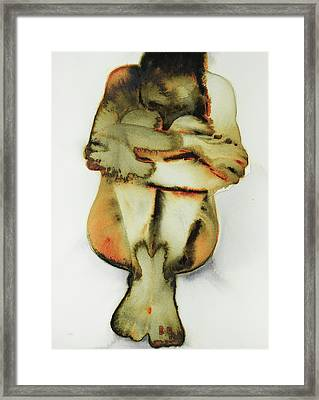 One  The Dirty Yellow Series Framed Print