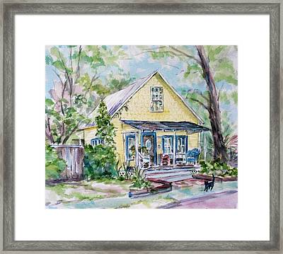 One Thirty Five Framed Print by Ruth Mabee