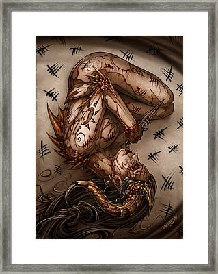 One Thousand Sins Framed Print