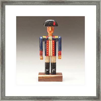 One Tin Soldier Framed Print by James Neill