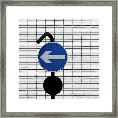 One Way 3 Framed Print