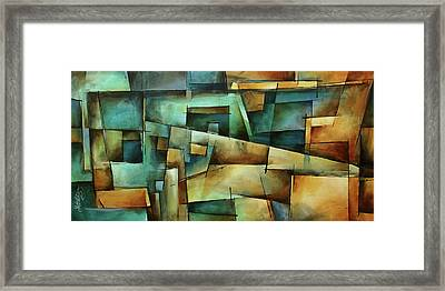 'one Way' Framed Print by Michael Lang