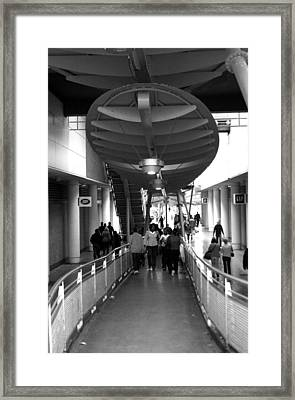 One Way Out Framed Print by Jez C Self