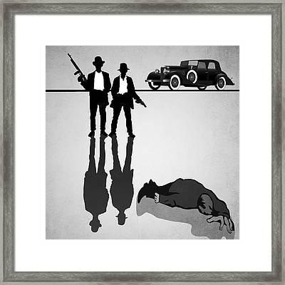 One-way Ride Framed Print by Daniel Hagerman