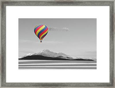 One Way Ticket To Paradise Framed Print by James BO Insogna