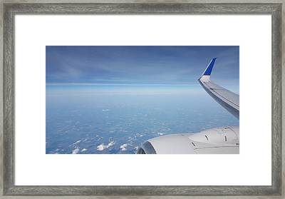 One Who Flies Framed Print