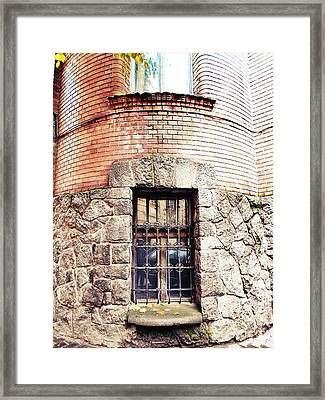 One Window And A Half Framed Print