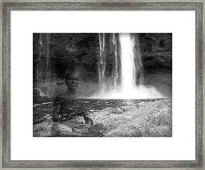 One With Nature Framed Print by Daniel Hagerman
