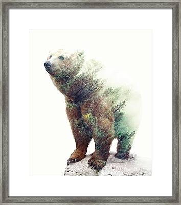 One With Nature V2 Framed Print