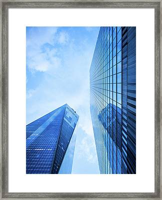 One World Trade Center Framed Print by Michael Weber