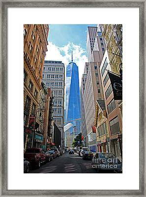 One World Trade Center Framed Print by Nishanth Gopinathan