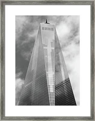 One World Trade Center Framed Print by Rona Black