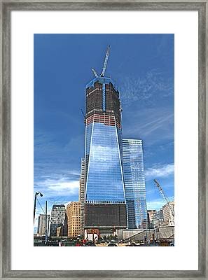 One World Trade Framed Print