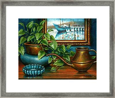O'neills Painting Framed Print by Colleen  Maas-Pastore